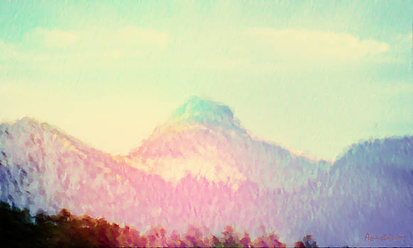 Early Light on My Mountain Muse by Anastasia Savage Ealy