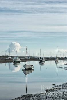 Early morning at Brancaster Staithe Norfolk UK by John Edwards
