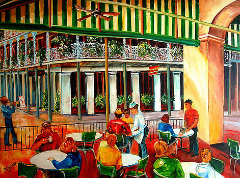 Early Morning at the Cafe Du Monde by Diane Millsap