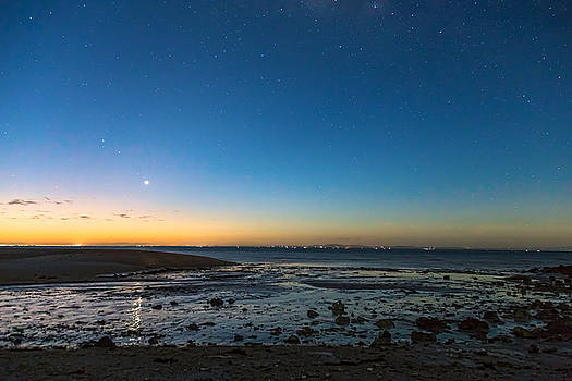 James BO Insogna - Early Morning Bantayan Starry Sunrise