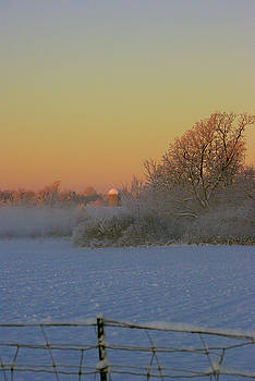 Early Morning Field Mist by Paul Wash