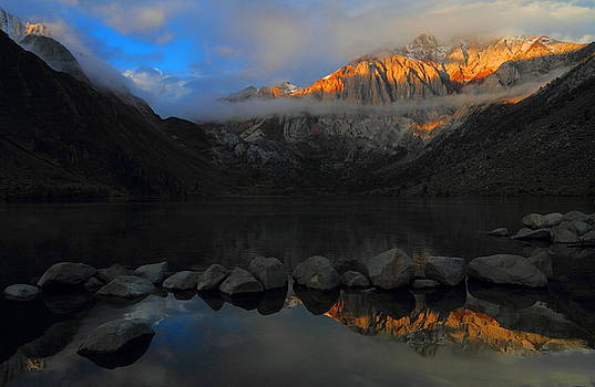 Early morning light at Convict Lake in the Eastern Sierras by Jetson Nguyen