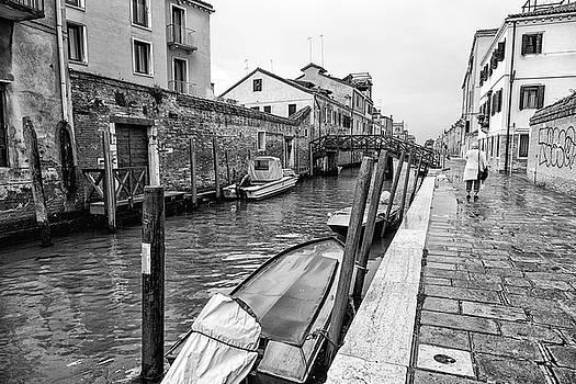 Early Morning Rain in Venice by John Hoey