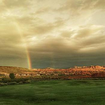 Early Morning Rainbow by Travis Turner