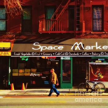 Early New York Morning by Miriam Danar