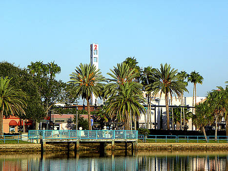 Early Sunday Morning in Daytona Beach 001  by Chris Mercer