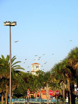 Early Sunday Morning in Daytona Beach 002 by Chris Mercer