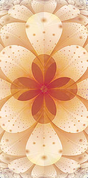 Earth Tone Flower by Lori Grimmett