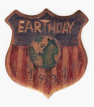 EARTHDAY Badge by Timothy Wilkerson