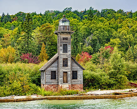 Jack R Perry - East Channel Lighthouse Grand Island