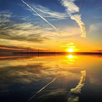 East Coast Reflection 2 by Christine Sharp