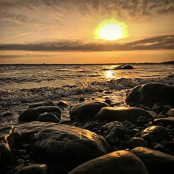 East Coast Sunset 1 by Christine Sharp