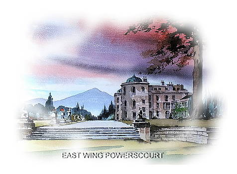 East Wing Powerscourt by Val Byrne