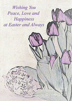 Easter Card No. 2 by Sherry Hallemeier