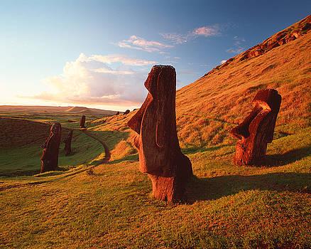 Easter Island Statues by David Nunuk