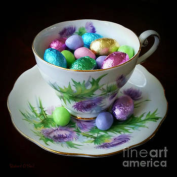 Easter Teacup by Robert ONeil