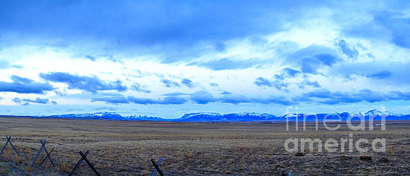 Eastern Front Rocky Mountains by John Lee