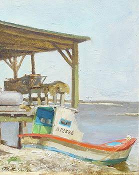 EastPoint Oyster Boat by Mitch Kolbe