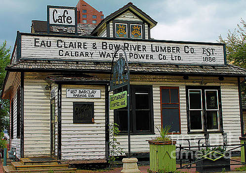 Eau Claire and Bow River Lumber Company by Nina Silver