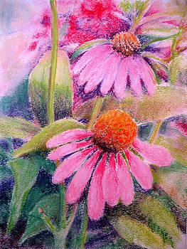 Echinacea Duo by Bill Meeker