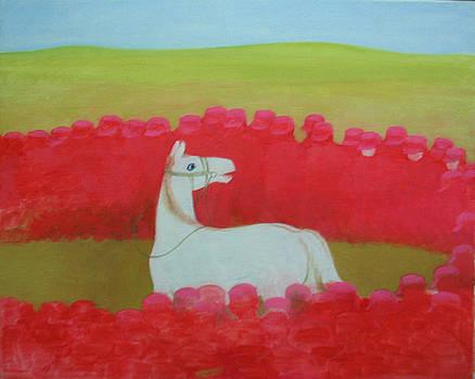 Echoing Steppe No.3 by Ji-qun Chen
