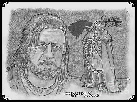 Eddard Stark by Chris  DelVecchio