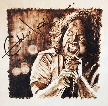 Eddie Vedder by Lance Gebhardt