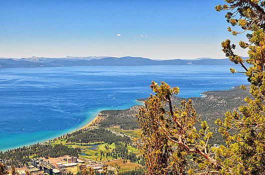 Edgewood Golf Course and Lake Tahoe - South Lake Tahoe - California by Bruce Friedman