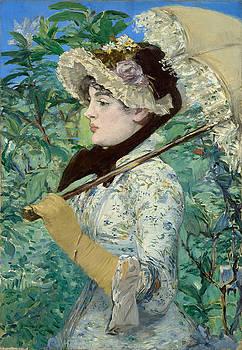 Edouard Manet - Le Printemps  by Bishopston Fine Art