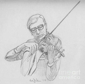 Edward Master Violin by Fred Jinkins