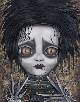 Edward Scissorhands by Abril Andrade Griffith