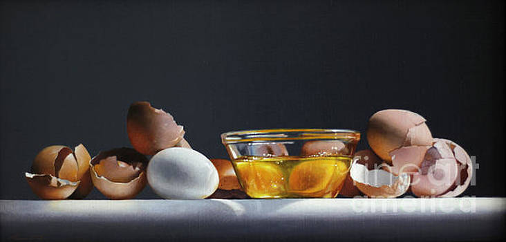 Egg And Shells #12 by Larry Preston