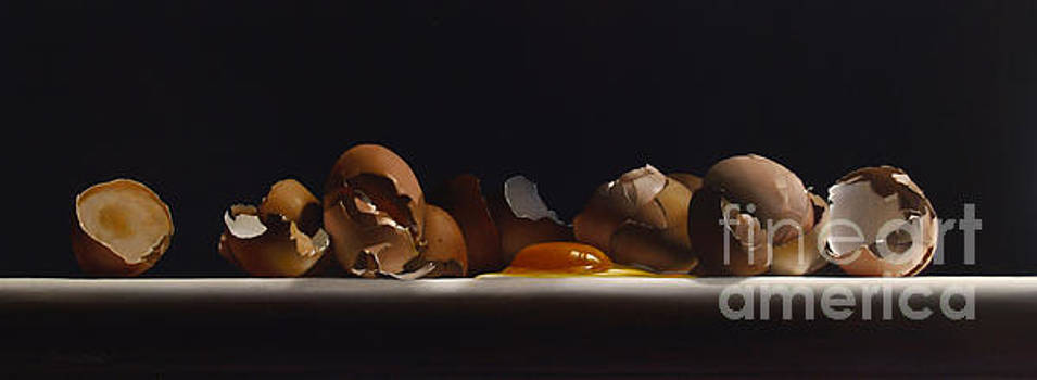 EGG AND SHELLS no.7  by Larry Preston