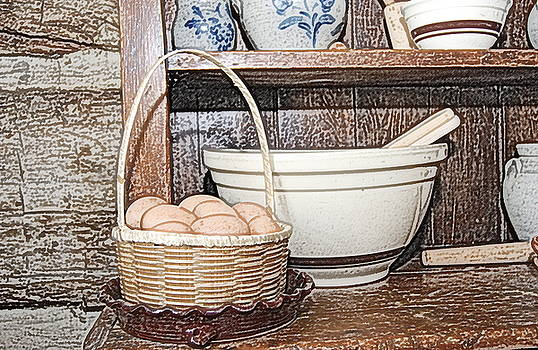 Michael Peychich - Eggs in Basket