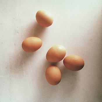 Eggs Study by Lea Velasquez