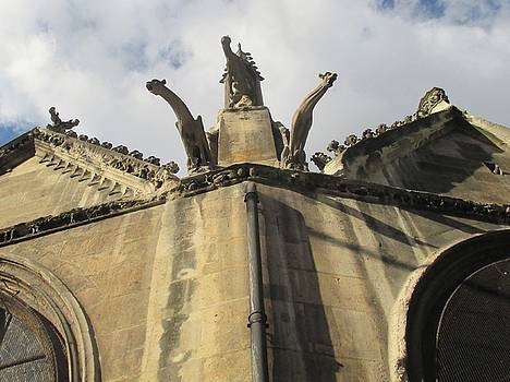 Eglise Saint-Severin, Paris by Christopher Kirby