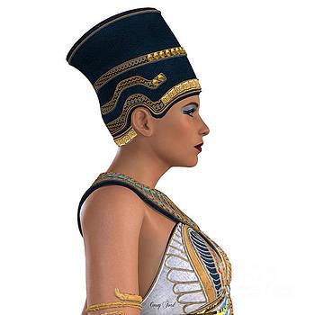 Corey Ford - Egyptian Nefertiti Face