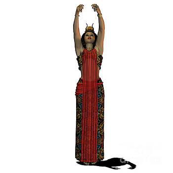Corey Ford - Egyptian Woman Dress