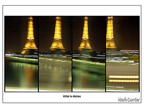 Eiffel In Motion Series by Mark Currier