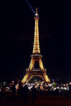 Eiffel Tower at Night by Tim Stringer