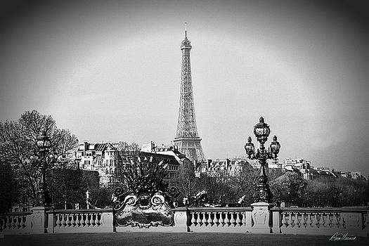 Diana Haronis - Eiffel Tower from Bridge