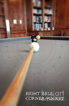 Eight Ball Corner Pocket by Phil Perkins