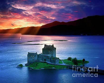 Eilean Donan Castle by Edmund Nagele