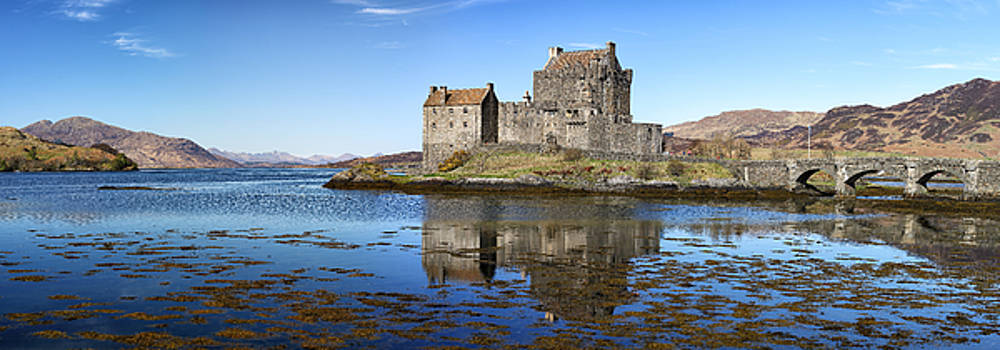 Eilean Donan Castle Panorama by Grant Glendinning