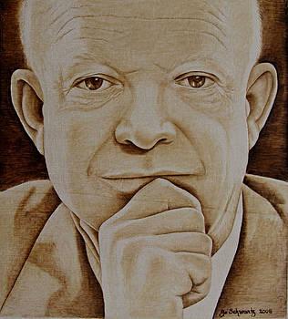 Eisenhower The Man - Poster by Jo Schwartz