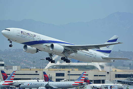 El Al Boeing 777-258ER 4X-ECE Los Angeles International Airport May 3 2016 by Brian Lockett
