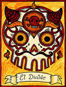El Diablito - The Devil by Mix Luera