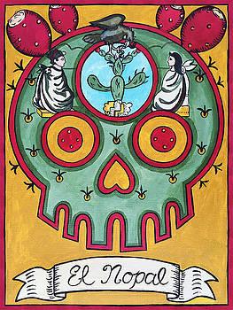 El Nopal - The Cactus by Mix Luera