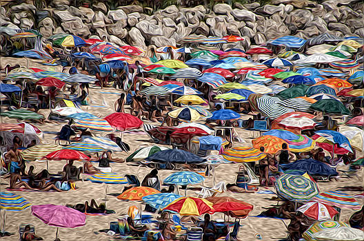 El Puerto beach by Tony Pearse