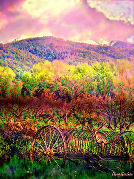 El Valle June Hay Days Nostalgia II by Anastasia Savage Ealy